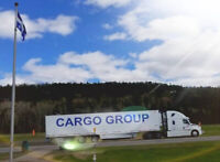 HIRING AZ DRIVERS $ CANADA ONLY $$ LOTS OF MILES $$ CARGO GROUP