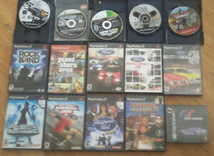 13 Playstation 2 PS2 Games, RPG, Racing, more