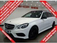 2016 Mercedes-Benz E-CLASS 2.1 E220 CDI BLUETEC (175 BHP) AMG NIGHT EDITION (PRE