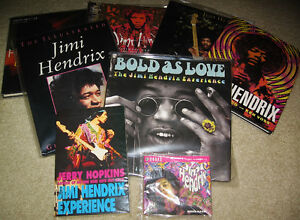 Jimi Hendrix (Rock & Roll) Book Collection