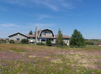 Beautiful House on Acreage in Cochrane (AB) for Rent- from Nov.1