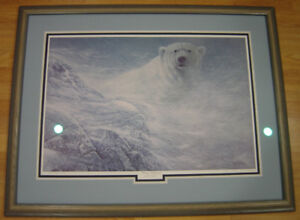"Ron Decker ""Winter Whiteout"" Artist Proof Print"