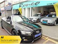 2015 Audi A5 TDI S LINE SPECIAL EDITION PLUS Auto CONVERTIBLE Diesel Automatic