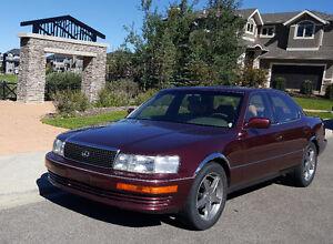 1992 Lexus LS Sedan - Low KMs