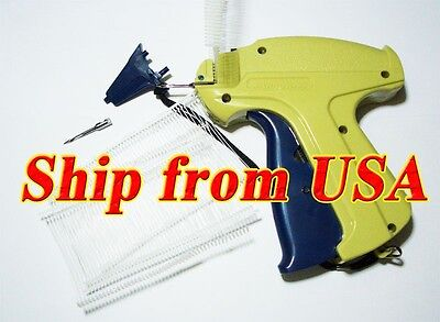 Garment Price Label Tag Tagging Gun 1000 Barbs 1 Extra Needles