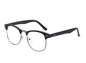Outray Vintage Retro Half Frame Clear Glasses