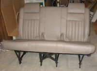 GM MINIVAN 3RD ROW LEATHER BENCH SEAT, AND CARGO ORGANIZER
