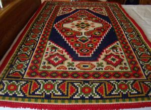 Handmade 100% Wool Rug