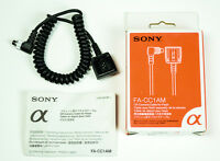 Sony Flash Cable and Adapters (All New in Box)
