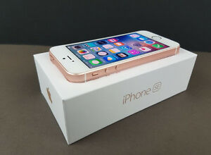 MINT Iphone SE 16 gb rose gold