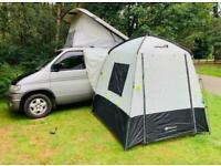 MAZDA BONGO 2.5TD AFT FULL SIDE CAMPER CONVERSION 4 BERTH 81K AWNING R&R BED