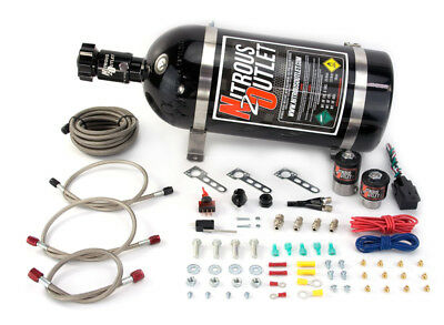 (Nitrous Outlet GM EFI Single Nozzle System(10lb Bottle))