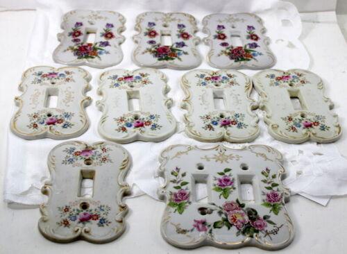 Light Switch Plate Covers 9 Arnart Creation JAPAN Porcelain