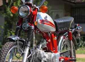 1971 Honda CL 70 Scrambler London Ontario image 1
