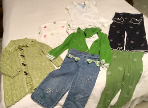 Gymboree 's Girl outfits size 3 & 3T