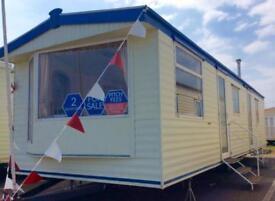 Static Caravan Nr Clacton-on-Sea Essex 2 Bedrooms 6 Berth Atlas Moonstone 2003