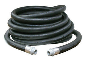 Diesel / Gas  Fuel Hose -  50 foot New - 3/4 ; with end fittings