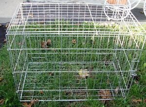 Steel Wire Dog Cage Heavy Duty Large