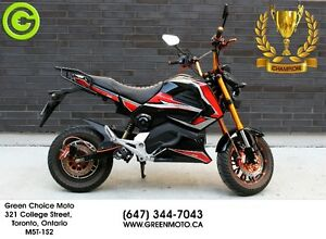 72V Electric Motorcycle. The Champion. Toronto and Honolulu