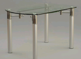 Heavy Glass Top Table