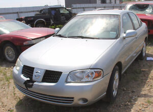 PARTING OUT 2004 NISSAN SENTRA - BA1807