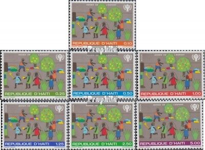 Haiti 1348-1354 (kompl.Ausg.) postfrisch 1979 Kinderjahr