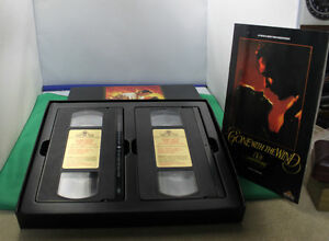 VHS GONE WITH THE WIND 50th anniversary addition  1989 Kingston Kingston Area image 2