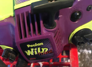 Excellent Wild Thing Poulan Chainsaw 18 inch SEE DEMO VIDEO