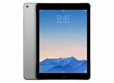 "GENUINE APPLE IPAD Air 2 16GB WiFi 9.7"" Space Grey A Grade Touch ID iOS 13.4.1"