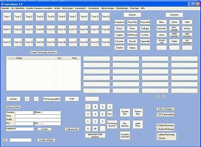 Gastrokasse Gastronomie Kassensystem Gastronomiekasse rechnungsprogramm