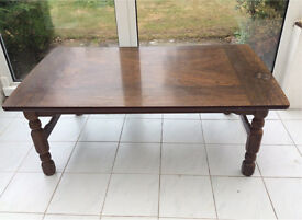 SCANDINAVIAN OAK LOUNGE TABLE FOR SALE £100