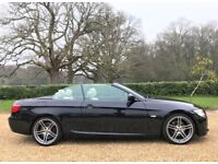 BMW 320d M Sport Convertible *Watch Video* Finance Available Hted Leather 19s Long MOT NO advisories