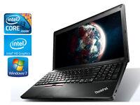 "Gaming Laptop IBM Lenovo E530C - 3rd Gen QuadCore i3 - Intel HD 4000 - 15.6"" - 6Gb - Windows 10"