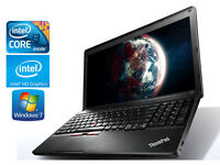 "Gaming Laptop IBM Lenovo E530C - 3rd Gen i3 - Intel HD 4000 - 15.6"" - 4Gb - Windows 10"