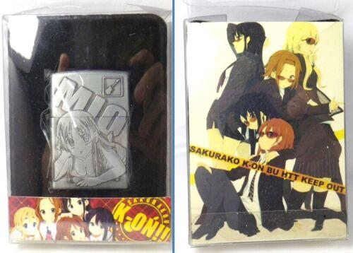 K-ON !! Keion Mio akiyama Amusement Prize Lighter MIB Rare              130205E0