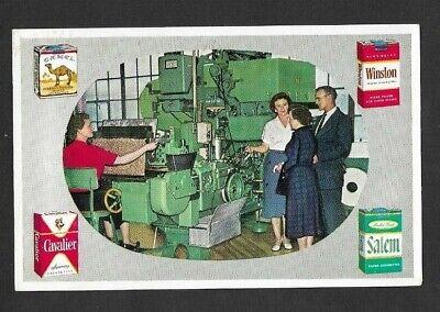 Vintage R.J. Reynolds Tobbaco Factory RPPC Meter Cancel 1959 Winston, Salem N.C.