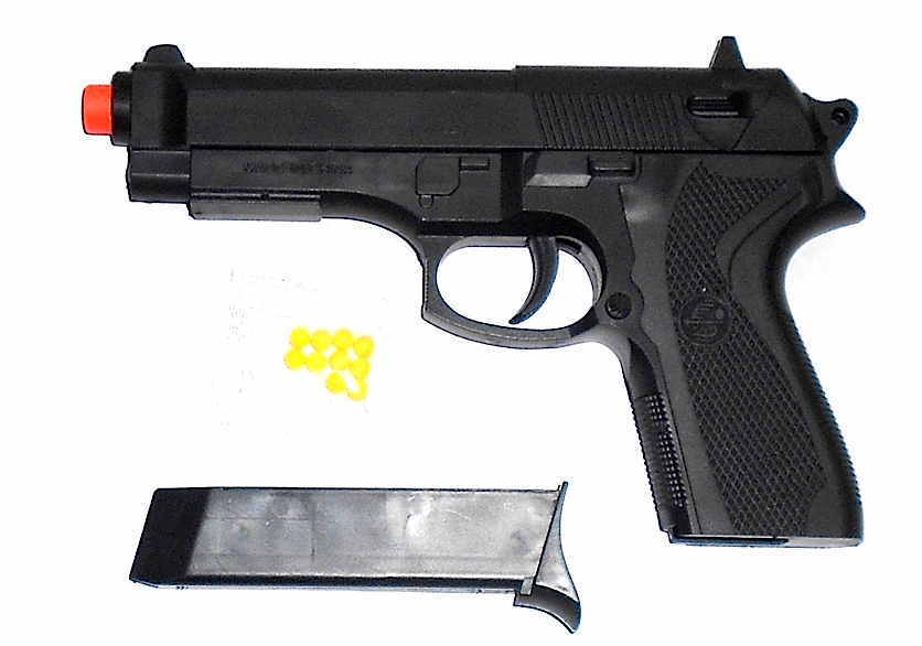 """Army Style Airsoft  Pistol w/ removal clip  9""""x 6"""" SALE CLOS"""