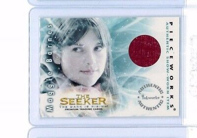 2007 Amelia Warner Inkworks The Seeker Dark Is Rising Maggie Barnes Scarf Memora