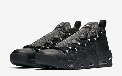 size 40 75278 ada05 Nike Air More Money Black Metallic Uptempo Pippen MENS SZ 9.5 NEW!