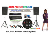 PA, Karaoke system Hire, garden party,Birthday, DJ, disco light , Gobo projection