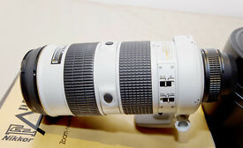 Unique and very rare AF-S 80-200mm f/2.8 ED Zoom-Nikkor Gray Special Tropic Version