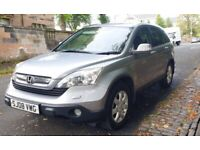 2008 HONDA CR-V 2.2i-CDTi ES 4WD DIESEL, TOW-BAR FITTED, PRIVACY GLASS, CRUISE CONTROL, HPI CLEAR