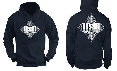 USO Samoan Brotherhood Navy Hoodie 50/50 cotton/poly fleece Sweater Limited (50 Cotton Poly Fleece)
