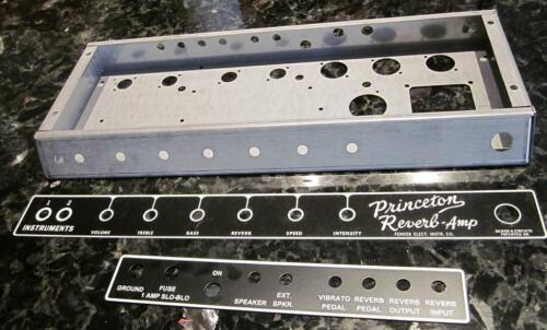 Princeton Reverb FEIC Chassis set with Metal plates included!