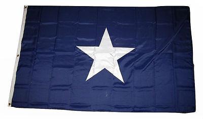 5x8 Embroidered Sewn Bonnie Blue 600D Nylon Flag 5'x8'