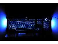 SAITEK ECLIPSE 2 backlit gamer keyboard
