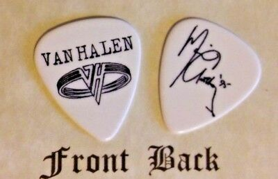 VAN HALEN - MICHAEL ANTHONY (Band Signature Logo) guitar pick -(w)