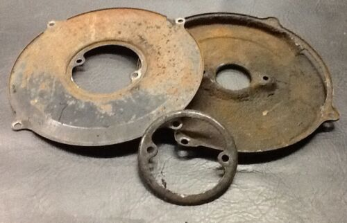VW AirCooled Beetle Generator/Alternator Backing Plate Tin Set   67-79
