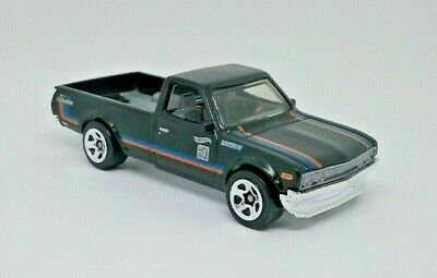 Hot Wheels Black Datsun 620 HW Hot Trucks Pickup
