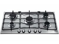 New 5-ring Hotpoint gas hob